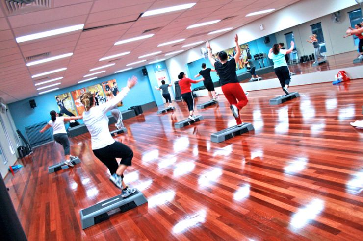 Fun Aerobics Event on Sunday 7th May in Banstead. (Photo by www.localfitness.com.au)